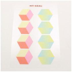 mt seal 幾何学・六角形 MTSEAL21