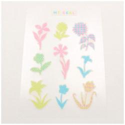 mt seal シルエット・花 MTSEAL24