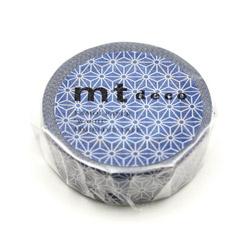 MT01D424 麻の葉・紺瑠璃(こんるり) MT01D424