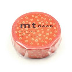 MT01D429 ねじり梅・赤橙(あかだいだい) MT01D429