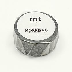 MTWILL18 mt ウィリアム・モリス Pure Honeysuckle &Tullip Black ink MTWILL18