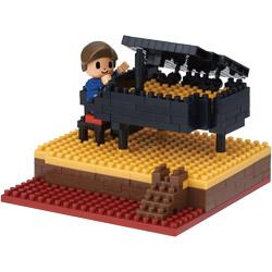 【在庫限り】 ナノブロック NBH-167 ストーリーズコレクション ピアノ