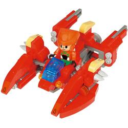 ナノブロックプラス ブロックス ライダース PBR-008 灼熱のクラブジェット