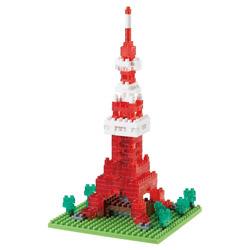 ナノブロック NBH-001R 10周年記念 東京タワー クリアver.
