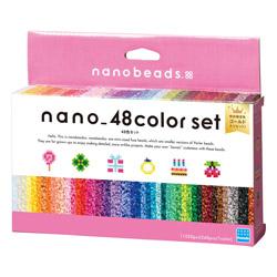 ナノビーズ 80-54359 48色セット