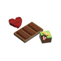 ナノブロック NBC-290 チョコレート