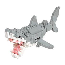 ナノブロック NBC-332 ホホジロザメ