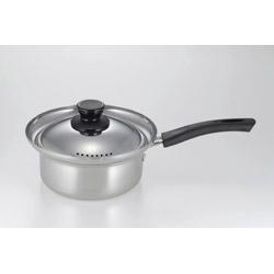 エスクラス ステンレス製湯切り鍋 16cm SCL-05