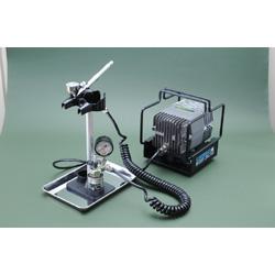 Mr.リニアコンプレッサーL7 圧力計付レギュレーター・プラチナブラシセット