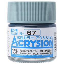 新水性カラー アクリジョン RLM65ライトブルー