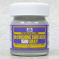 Mr.フィニッシング・サーフェイサー1500(グレー/ビンタイプ)