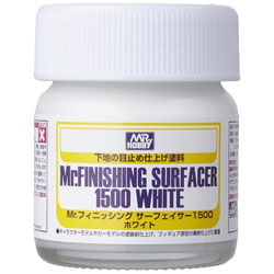 SF291 Mr.フィニッシングサーフェイサー 1500 ホワイト ビンタイプ