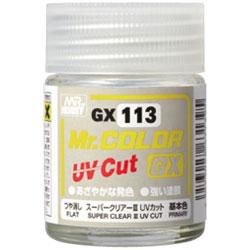 Mr.カラー GX113 スーパークリアーIII UVカット(つや消し)