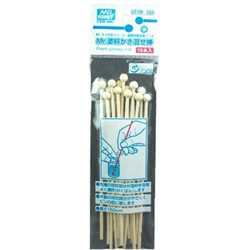 GT109 Mr.ネコの手シリーズ・塗装作業支援ツール Mr.塗料かき混ぜ棒(15本入)