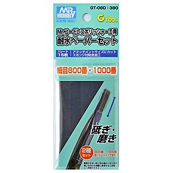 GT-08D 耐水ペーパーセット 細目 800/1000 (Mr.コードレスポリッシャーII(GT08)用)