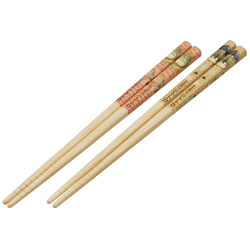 竹安全箸2P 18cm となりのトトロ すすき ANT3W