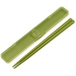 音のならない箸箱セット レトロフレンチ グリーン ABC3 グリーン ABC3