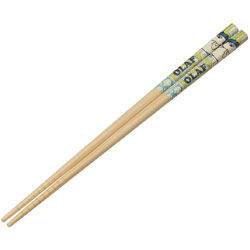 竹箸 21cm PEANUTS オラフ ANT4