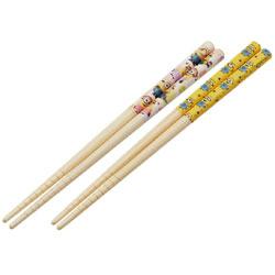 竹安全箸2P 18cm ミニオンズ ANT3W