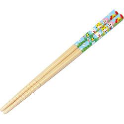 竹安全箸 16.5cm しまじろう ピクニック ANT2