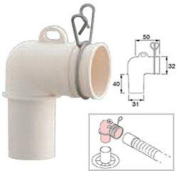 洗濯機排水トラップエルボ PH554F