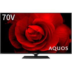 液晶テレビ AQUOS(アクオス)  8T-C70CX1 [70V型 /8K対応 /BS 8Kチューナー内蔵 /YouTube対応]