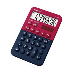 ミニミニナイスサイズ電卓(8桁) EL-760R-RX (レッド系)