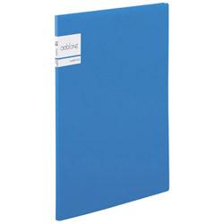 アドワン クリヤーファイル A4-S 10ポケット ブルー