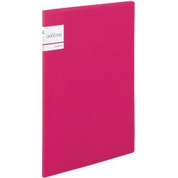 アドワン クリヤーファイル A4-S 10ポケット ピンク