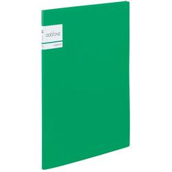 アドワン クリヤーファイル A4-S 10ポケット グリーン