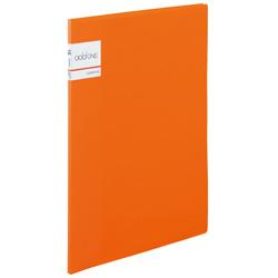 アドワン クリヤーファイル A4-S 10ポケット オレンジ