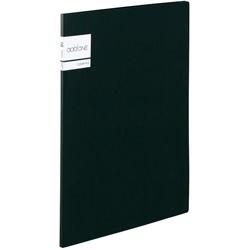アドワン クリヤーファイル A4-S 10ポケット ブラック