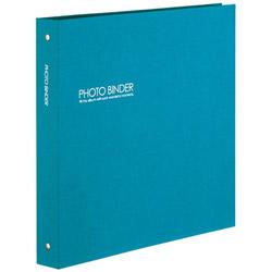 ハーパーハウスフォトバインダーLサイズ300枚収容(ブルー)XP-3233