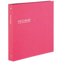 ハーパーハウスフォトバインダーLサイズ300枚収容(ピンク)XP-3233