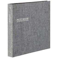 ハーパーハウスフォトバインダーLサイズ300枚収容(グレー)XP-3233