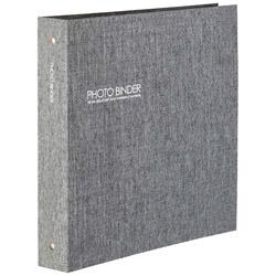 ハーパーハウスフォトバインダーLサイズ600枚収容(グレー)XP-3236