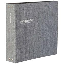 ハーパーハウスフォトバインダーL1008枚収容(グレー)XP-3238