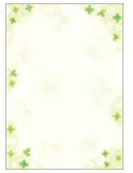 和ごころ 白つめ草 B5判 (B5サイズ・10枚) 4-1516