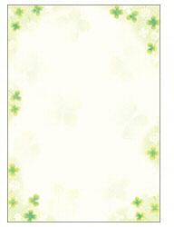 和ごころ 白つめ草 A5判 (A5サイズ・10枚) 4-1416