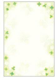 和ごころ 白つめ草 はがき大 (はがきサイズ・20枚) 4-1116