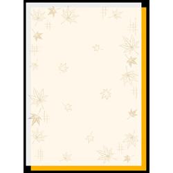 4-5007 和柄用紙 すきもよう 紅葉 A4(10枚)