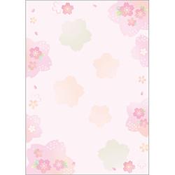 和柄用紙 和ごころ[A4サイズ /10枚] 4-1030 彩桜
