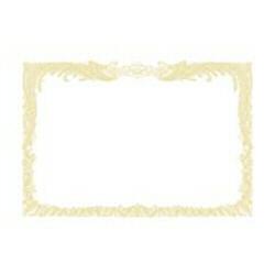 OA賞状用紙 縦書用(A4サイズ・10枚・白) 10-1060