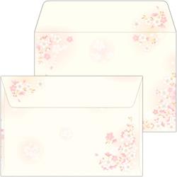16-1985 和ごころ封筒 枝桜 洋2(10)