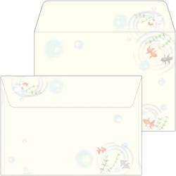 16-1987 和ごころ封筒 金魚 洋2(10)