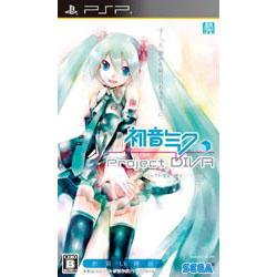 〔中古〕 初音ミク -Project DIVA- お買い得版 【PSP】