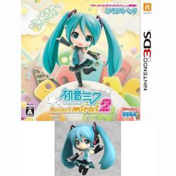 〔中古〕 初音ミク Project mirai 2 ぷちぷくパック 【3DS】