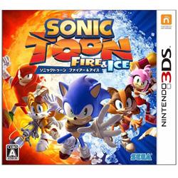 【在庫限り】 ソニックトゥーン ファイアー&アイス 【3DSゲームソフト】