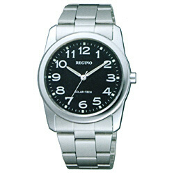 RS25-0212A [ソーラー時計]レグノ 「スタンダード」(メンズ)