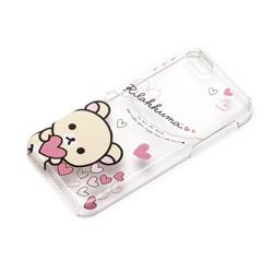 iPhone 5c用 ポリカーボネートケース クリア 「リラックマ」(コリラックマ ハート) YY00209